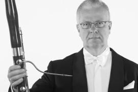 Fagottist Eckart Hübner